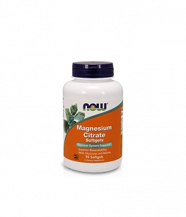 Now Foods Magnesium Citrate Softgels | 90 softgels