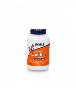 Now Foods Lecithin 1200mg | 100 softgels