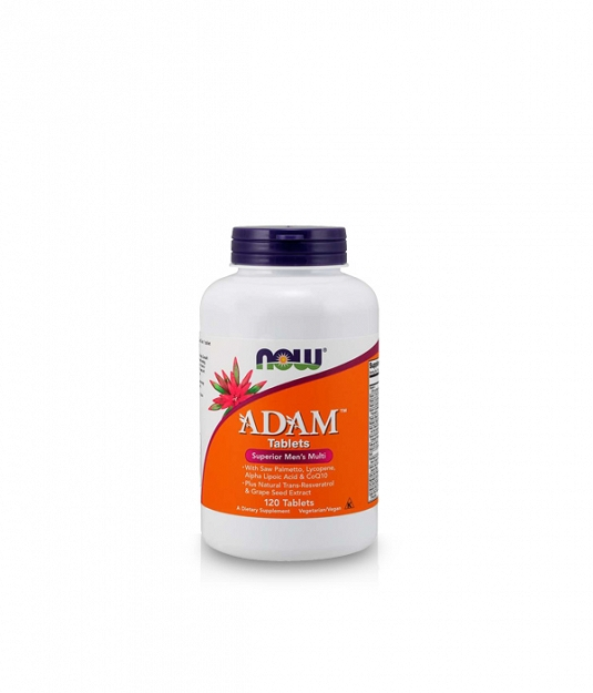 Now Foods Adam™ Men's Multiple Vitamin | 120 tabl