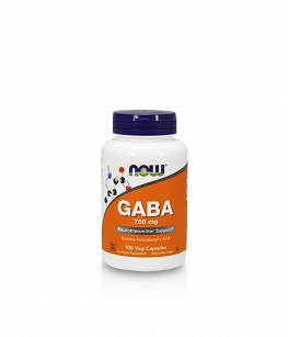 Now Foods GABA 750 mg | 100 vcaps.