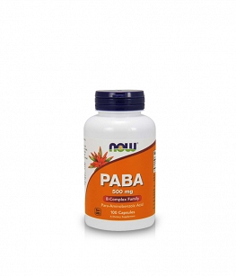 Now Foods PABA 500mg | 100 caps