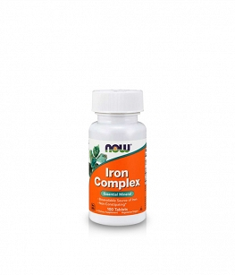 Now Foods Iron Complex | 100 veg tabl.
