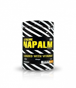 Fitness Authority Xtreme napalm loaded with vitargo | 500g