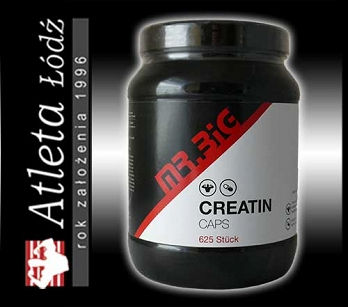 Mr.Big Creatine caps 625 kaps.