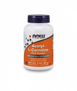 Now Foods Acetyl-L-Carnitine Pure Powder | 85g