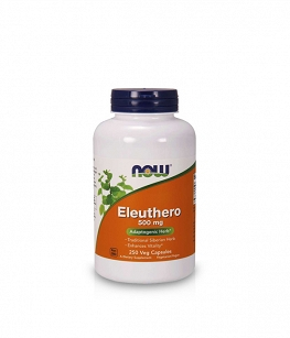 Now Foods Eleuthero 500 mg | 250 vcaps