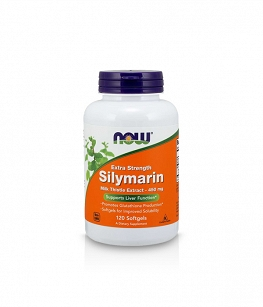 Now Silymarin Milk Thistle Extra Strength 450mg | 120 Softgels