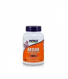 Now Foods MSM 1000mg | 120 kaps.