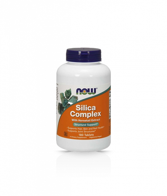 Now Silica Complex with Horsetail Extract 180 tabl.