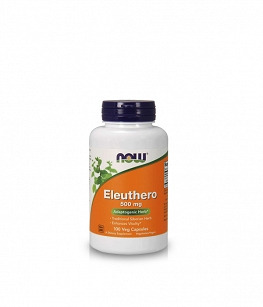 Now Foods Eleuthero 500 mg | 100 vcaps