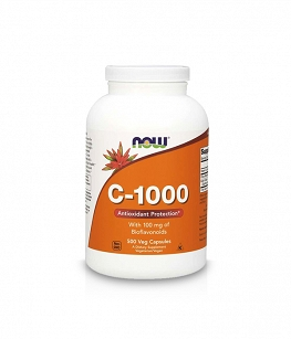 NOW Vitamin C-1000 Bioflavonoids | 500 kaps.