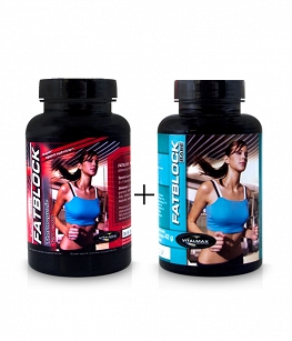 VITALMAX ZESTAW FATBLOCK BASE+THERMOGENIC | 2x 120 kaps.