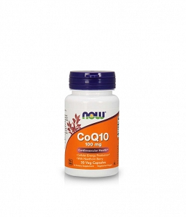 Now Foods Koenzym Q10 CoQ10 100 mg | 30 vcaps.