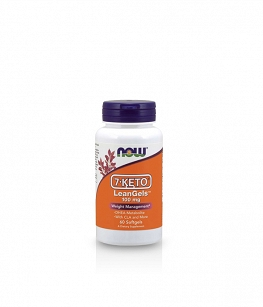 Now Foods 7-KETO® LeanGels™ 100 mg  | 60 vcaps