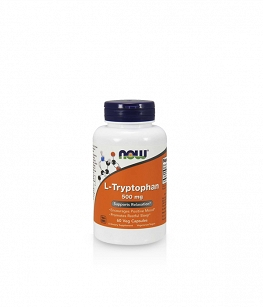 Now Foods L-Tryptophan 500 mg | 60 vcaps.