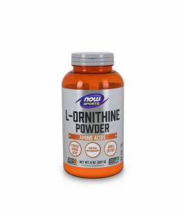 Now Foods L-Ornithine 100% Pure Powder | 227g