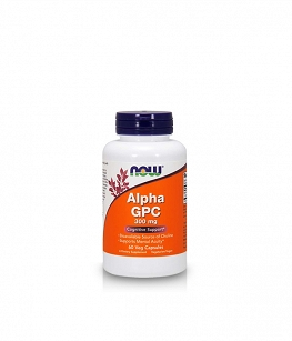 Now Foods Alpha GPC 300mg | 60 vcap