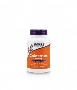Now Foods Colostrum 500mg | 120 kaps.