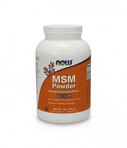 Now Foods MSM Pure Powder | 454g