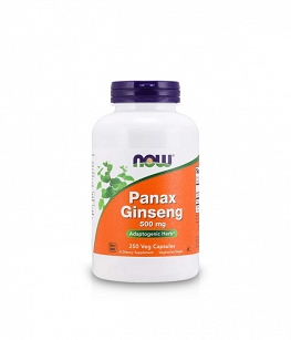 Now Foods Panax Ginseng | 250 kaps.