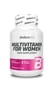 BioTech USA Multivitamin For Women | 60 tabl.