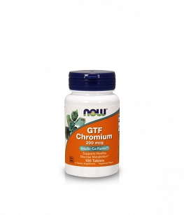 Now Foods GTF Chromium | 100 tabl.