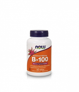 Now Foods Vitamin B-100 | 100 tabl. Sustained Release
