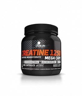 Olimp Creatine 1250 Mega caps | 400 kaps.