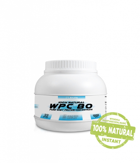 Atleta 100% Natural Whey Protein Instant WPC 80 | 1KG