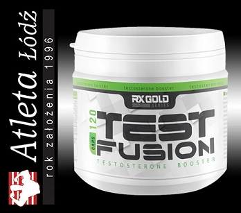 Rx Gold Test Fusion 120 kaps.