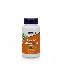 Now Foods Horse Chestnut 300mg | 90 vcaps
