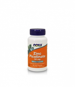Now Foods Zinc Picolinate 50mg | 120 vcaps