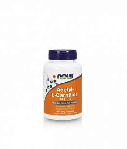 Now Foods Acetyl L-Carnitine (ALC) 500mg | 100 kaps
