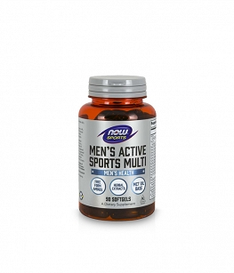 Now Men's Active Sports Multi | 90 softgels