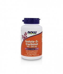 Now Foods Indole-3-Carbinol (I3C) 200 mg | 60 vcaps.