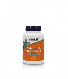 Now Foods Calcium & Magnesium | 100 tabl.