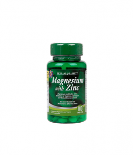 Holland & Barrett Magnesium with Zinc | 100 tabl.
