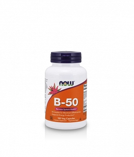 Now Foods Vitamin B-50 | 100 kaps.