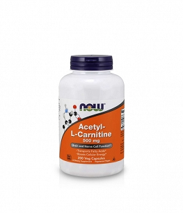 Now Foods Acetyl L-Carnitine (ALC) 500mg | 200 vcaps