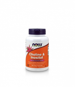 Now Foods Choline & Inositol | 100 kaps.