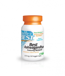 Doctor's Best Best Ashwagandha 125mg | 60 vcaps