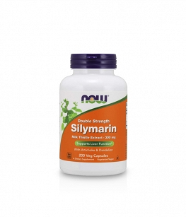 Now Foods Silymarin 300mg Milk Thistle Extract  | 200 vcaps.