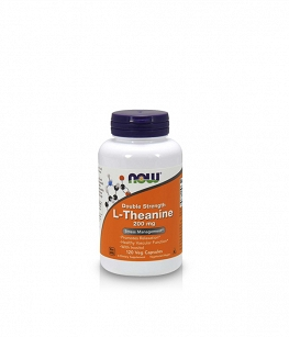 Now Foods L-Theanine with Inositol 200mg | 120 vcaps