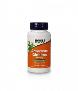 Now Foods American Ginseng 500mg | 100 vcaps