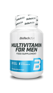 BioTech USA Multivitamin For Men | 60 tabl.