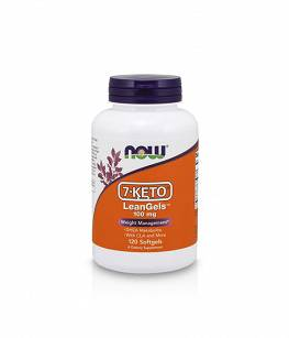 Now Foods 7-KETO® LeanGels™ 100 mg  | 120 vcaps