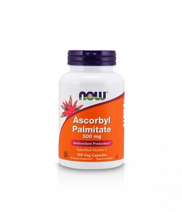 Now Foods Ascorbyl Palmitate 500mg | 100 vcaps