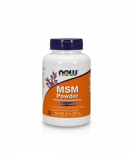 Now Foods MSM Pure Powder | 227g