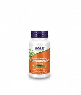 Now Foods Ashwagandha Extract 450mg | 90 Veg Capsules