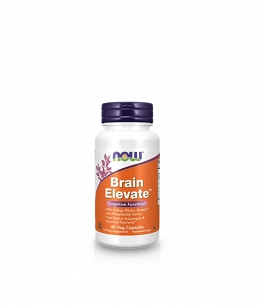 Now Foods Brain Elevate | 60 vcaps.